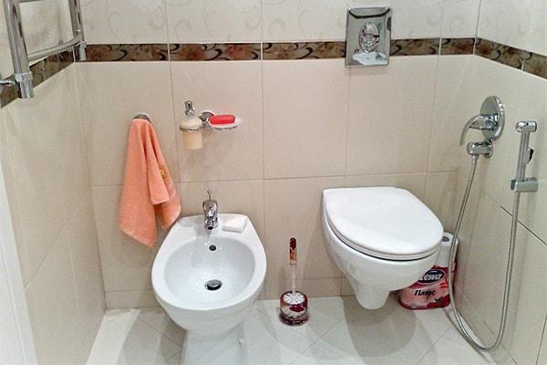 Как сделать из туалета биде
