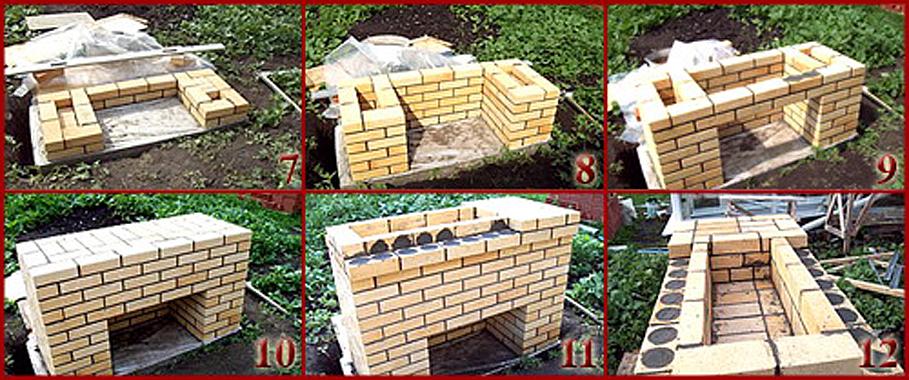 Как на даче построить барбекю