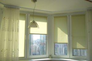 Крепление штор на окнах