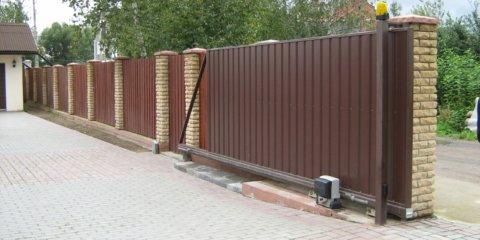 Откатные ворота