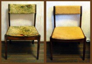 Ремонт мягкой части стула