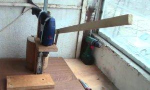 Как сделать сверлильный станок своими руками: домашняя мастерская