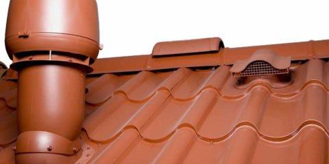 Вентиляция на крыше