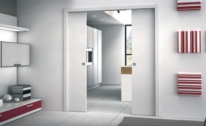 Незаметная дверь-пенал