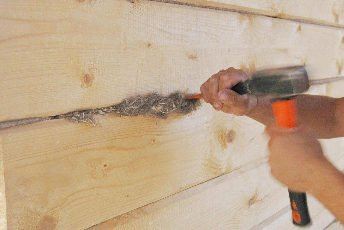 Ремонт бревенчатого дома своими руками