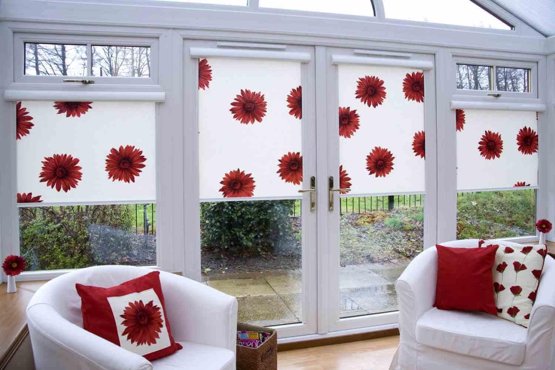 Рулонные занавески на окна своими руками
