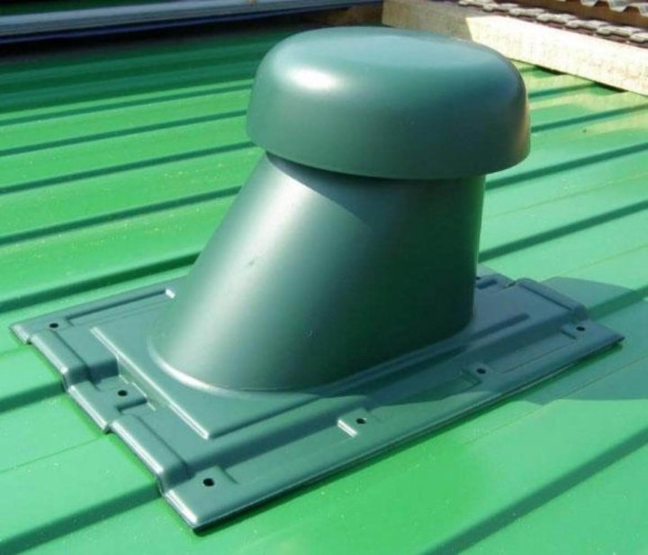 Вентканалы на крыше
