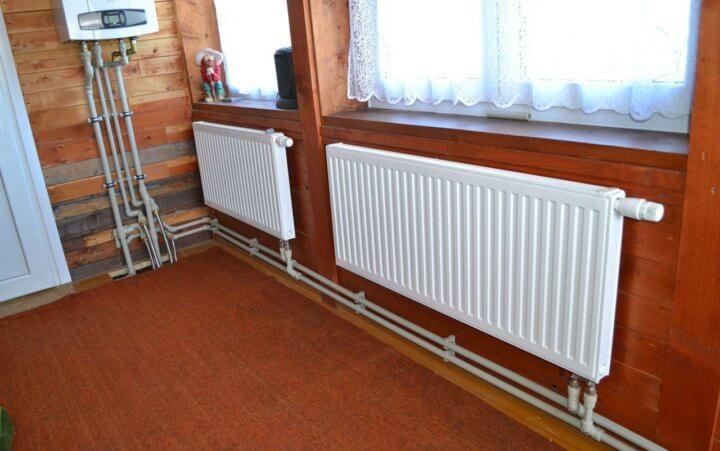 Разводка радиаторов отопления
