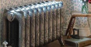 Радиатор отопления в стиле Ретро