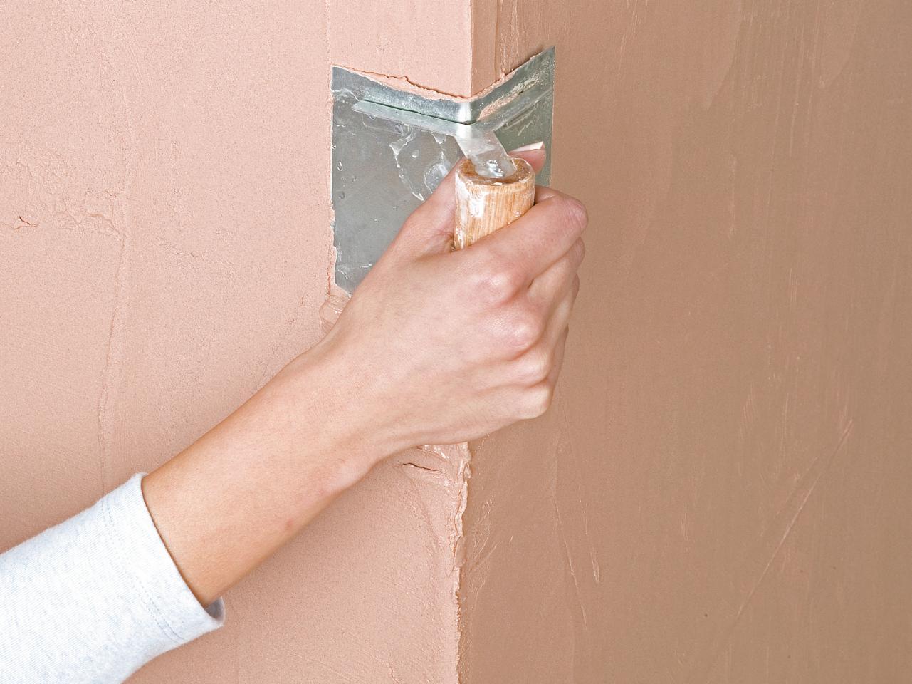 Как сделать внутренние углы на стенах 333