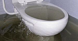 Засор канализации в квартире