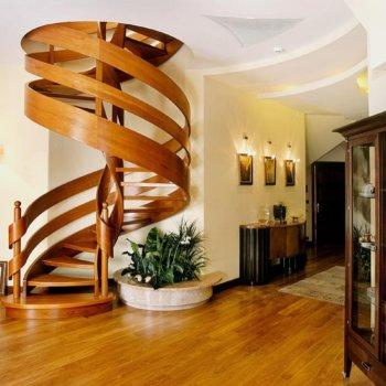 Винтовая лестница: размеры, особенности конструкции, способы монтажа