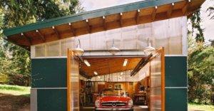 Красивый и надежный гараж