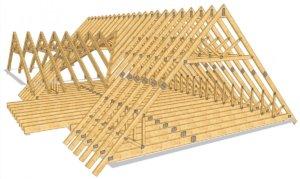 Строипильная система крыши