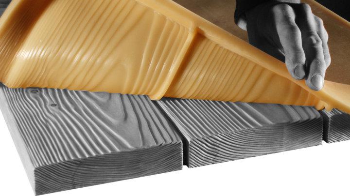 Силиконовые формы для тротуарной плитки