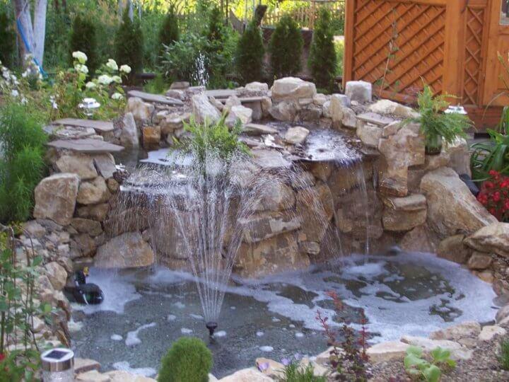 Дизайн фонтана