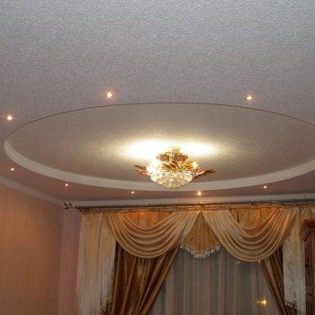 Как смонтировать устройство подвесного потолка из гипсокартона