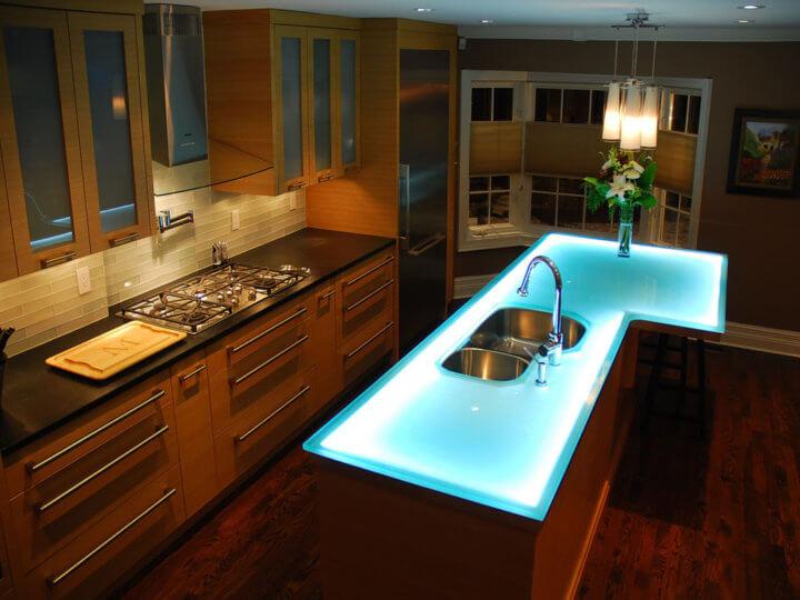 Столешница для кухонного острова