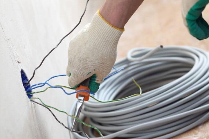Кабель для электропроводки в частном доме