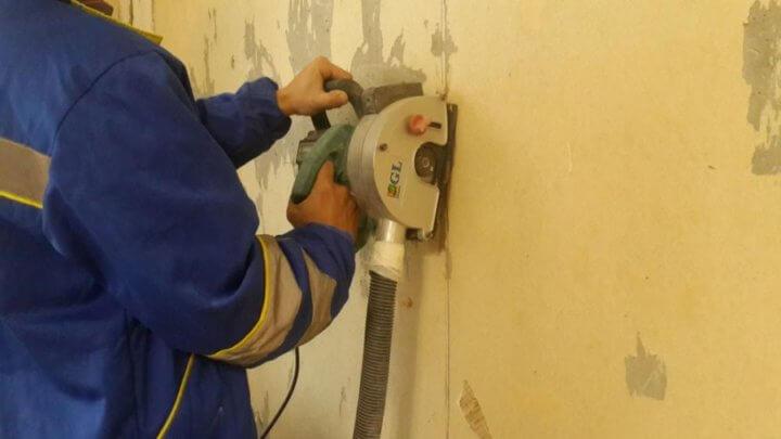 Подготовка стен для проводки