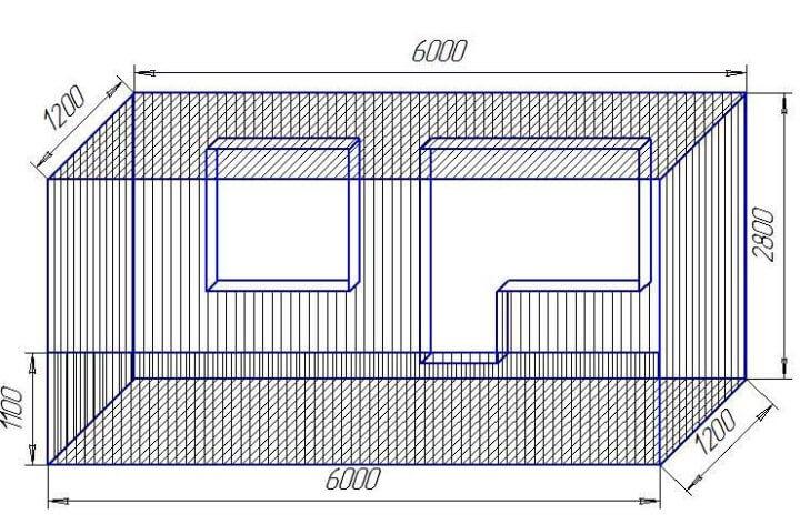 Размеры лоджии в панельном доме