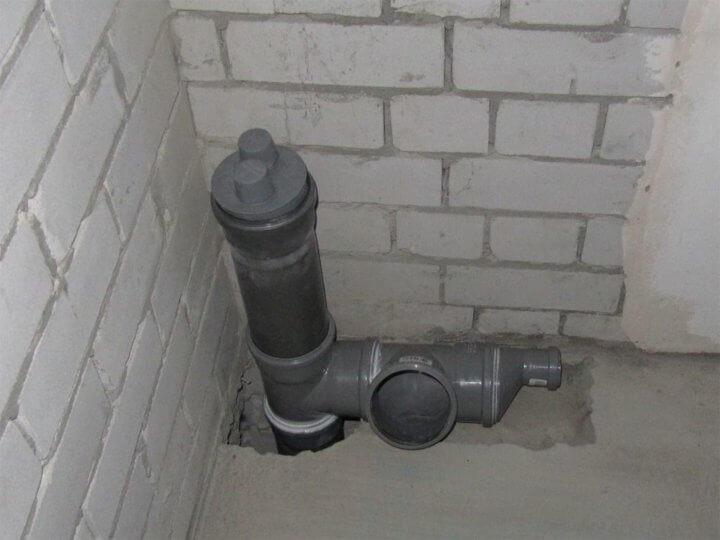 Вакуумный клапан в частном доме