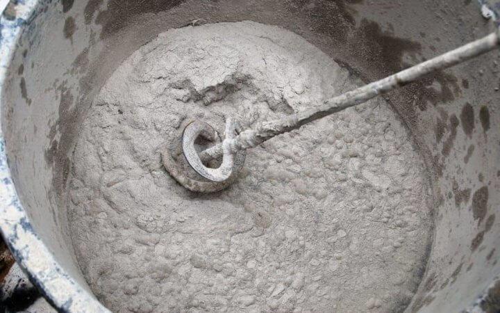 Раствор для кладки шлакоблока