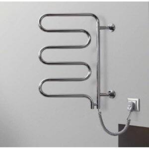 Монтаж электрического полотенцесушителя выполнить очень просто