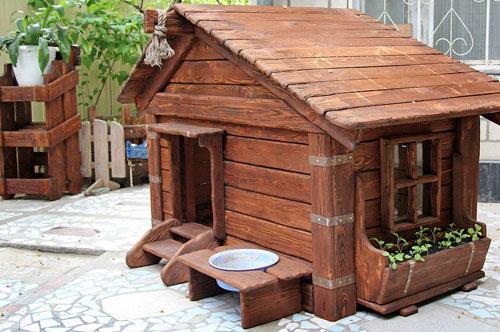 Красивые будки для немецкой овчарки