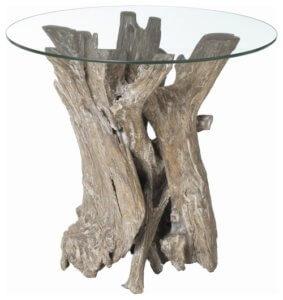 Склеить дерево и стекло можно при помощи клея или двухстороннего скотча