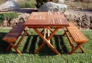 Комплект складной мебели для пикника