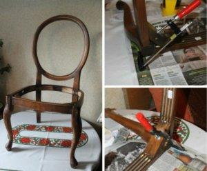 инструменты для ремонта стульев