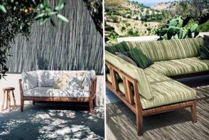 Разновидности мебели для веранд и террас