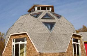 Круглая крыша - оригинальное решение