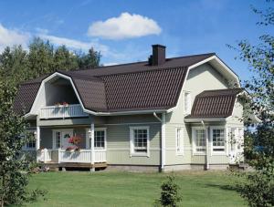 Крыша не только защищает дом от внешней среды, но придает законченность внешнему облику дома