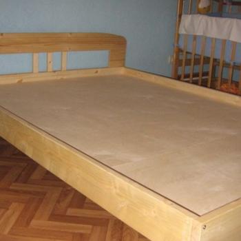 Изготовление кровати из дерева по собственному чертежу