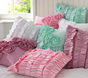 Делаем самостоятельно подушки для интерьера