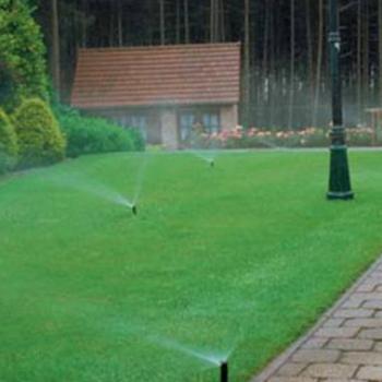Система полива газона своими руками, как и что делать