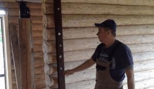 Исправляем кривую стену