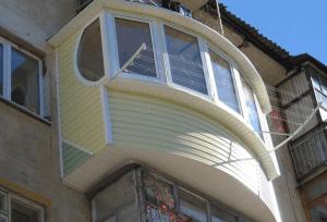 Оригинальный утепленный балкон
