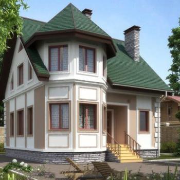 Проект каркасного дома с эркером: особенности и возможности