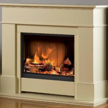 Электрические камины с эффектом живого огня: пламя без дыма