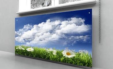 Экран из стекла