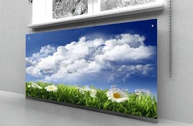 Как сделать экраны для батарей отопления: декоративные и экономичные