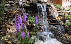 Ландшафтный водопад