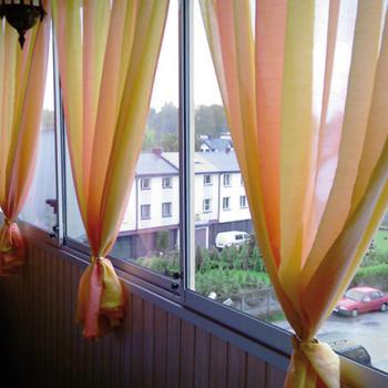 Шторы на балкон своими руками: идеи для воплощения мечты