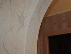 Уголок для арочной конструкции