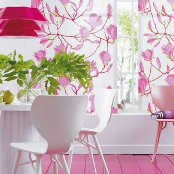 Как узнать, с каким цветом сочетается цвет фуксии в жилых помещениях