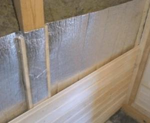 Теплоизоляция для бани