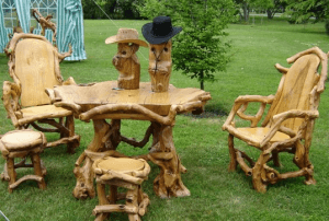 Мебель на даче своими руками